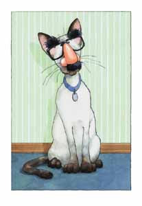 """Groucho Cat"""